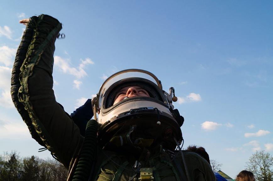 Белгородцы запустили в небо портрет Юрия Гагарина (фото) - фото 5