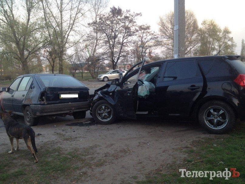 В ДТП на Большой Набережной пострадала 19-летняя гостья Кременчуга (дополнено), фото-1