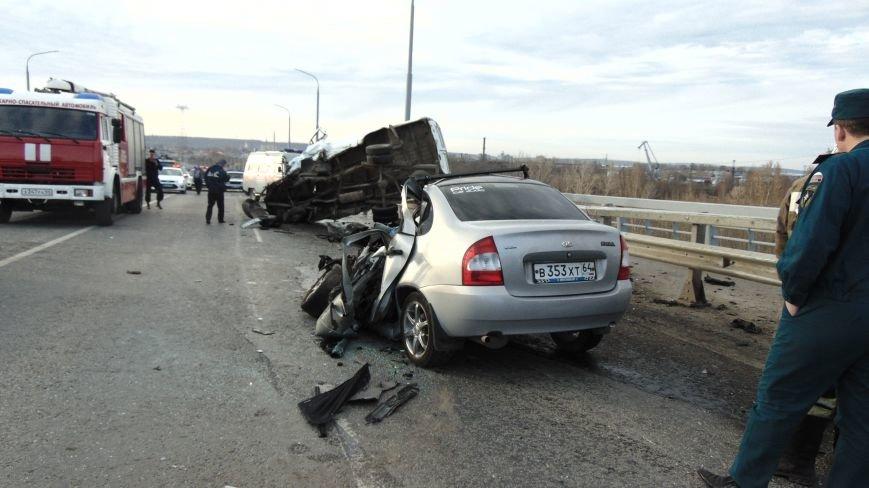 В ДТП на мосту в Балаково погиб 22-летний парень, а 4 человека пострадали (ФОТО, ВИДЕО) (фото) - фото 2