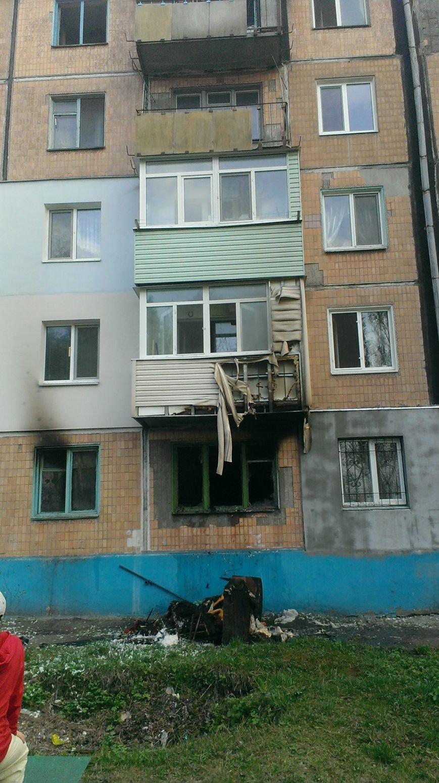 В Днепродзержинске по улице Каштанов горела квартира (фото) - фото 5