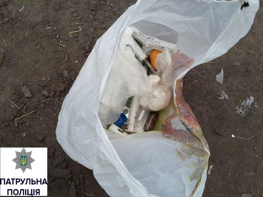 Патрульні очистили вулицю Чайковського в Черкасах від наркоманів (ФОТО), фото-2