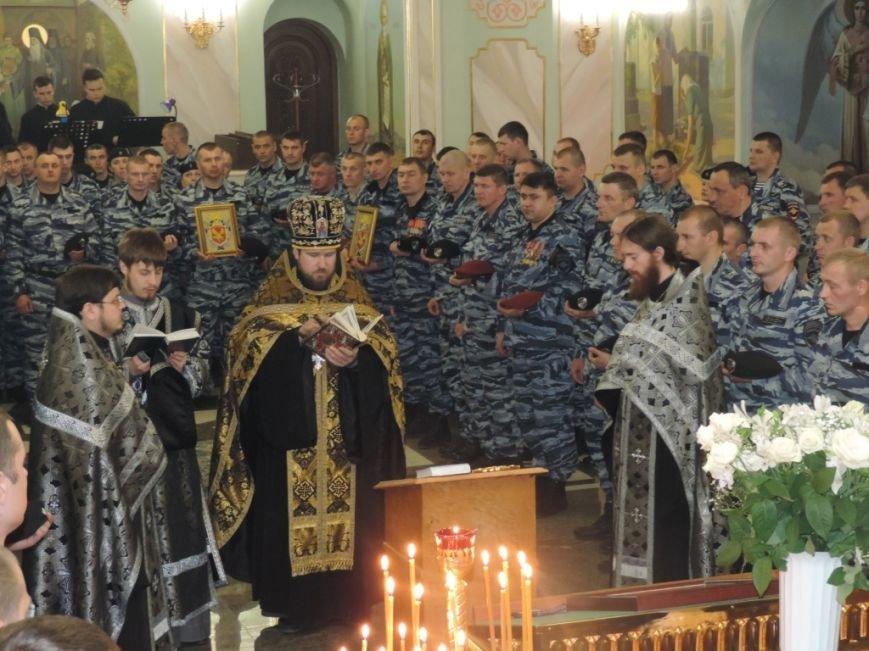Бойцы крымского