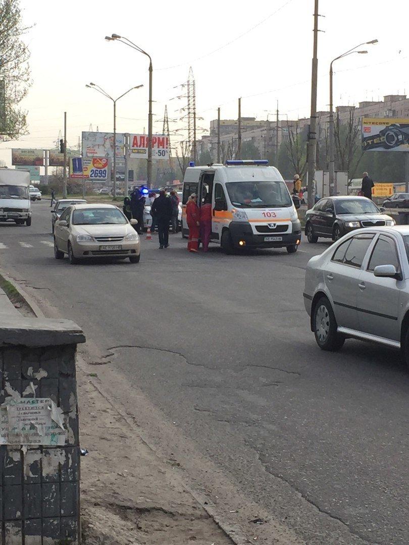 ДТП на Донецком шоссе: Volkswagen на переходе сбил ребенка (ФОТО), фото-1