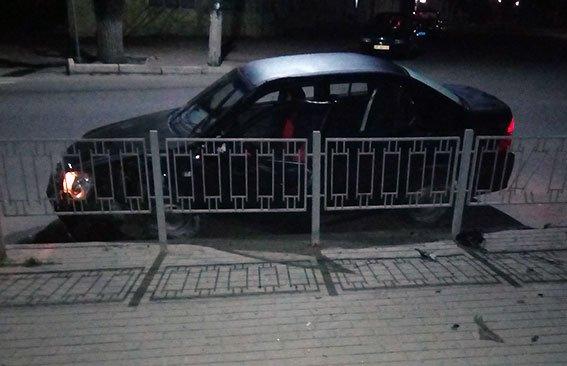 Ночная погоня в Харьковской области: угонщик авто