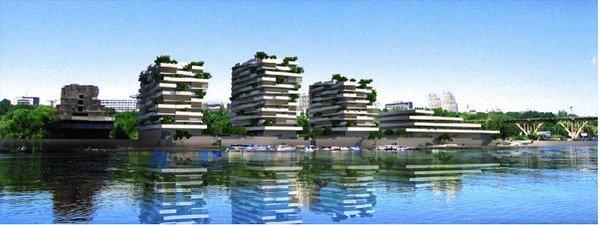 """Как изменится Днепропетровск: грандиозный комплекс «Лайнер» в виде корабля и будущее гостиницы """"Парус"""", фото-2"""