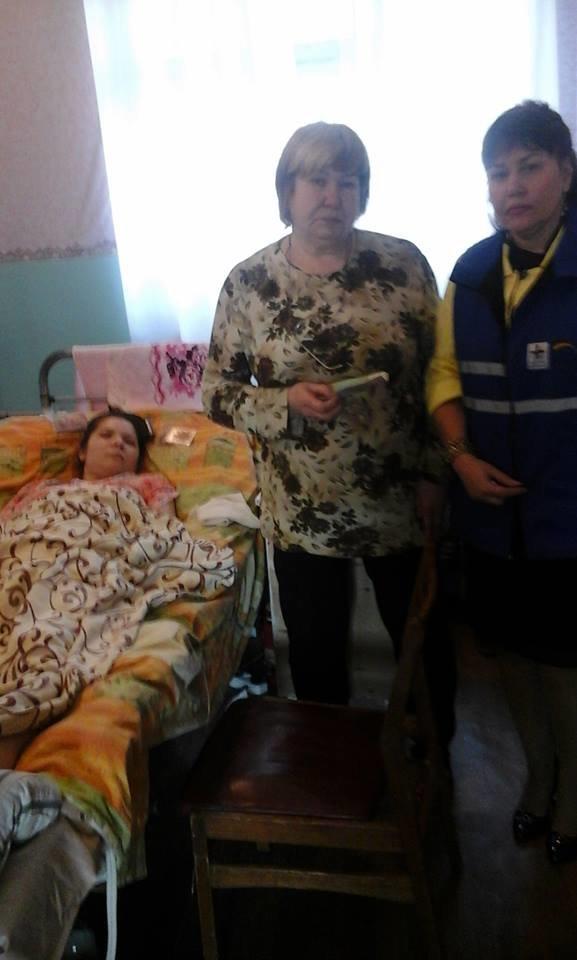 Каритас в Краматорске помог женщине после клинической смерти, фото-1