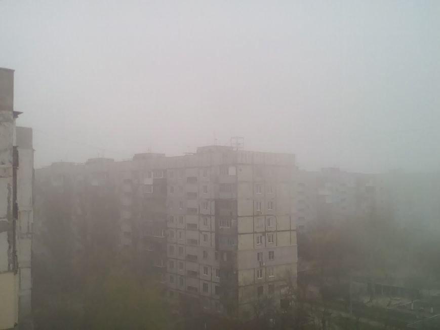 На Мариуполь в полдень напал странный туман (ФОТО+ ВИДЕО), фото-3