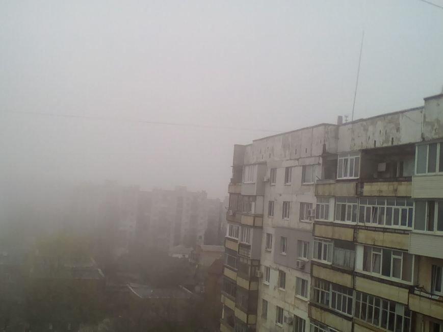 На Мариуполь в полдень напал странный туман (ФОТО+ ВИДЕО), фото-2