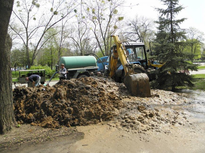 В Краматорске часть города осталась без воды (фото) - фото 1