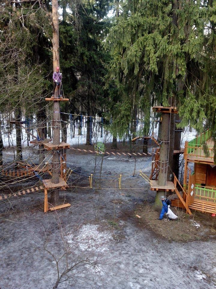 У Черкаському «Сосновому бору» створять новий спортивно-мотузковий комплекс (ФОТО), фото-5