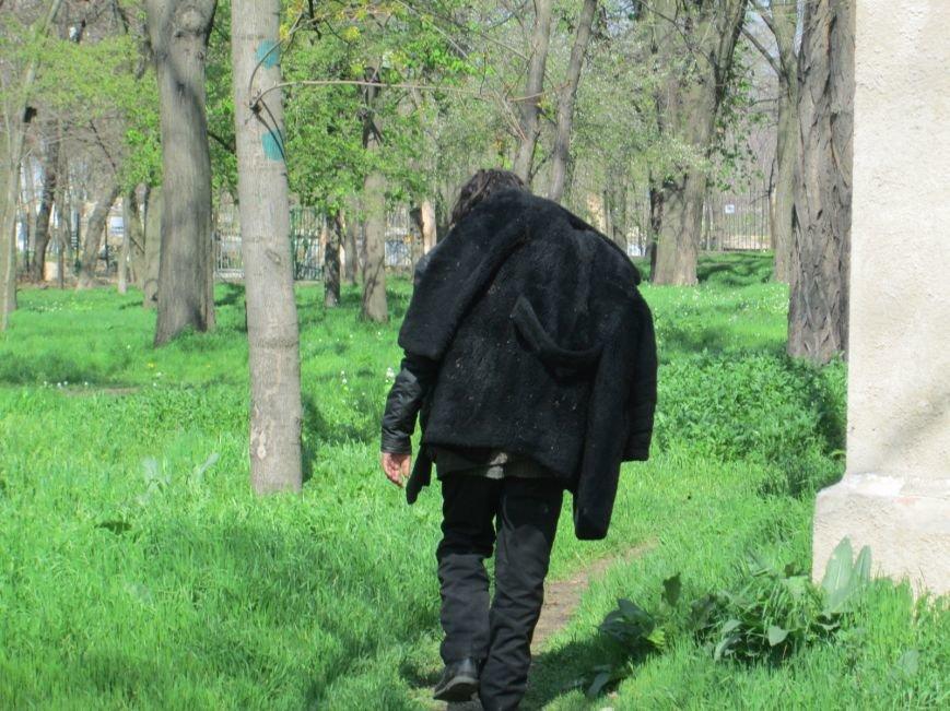 0824cfac0080d5710640175d477e66cd Одесский парк Шевченко отпугивает туристов