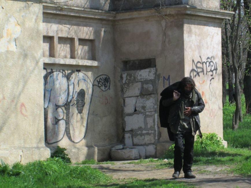74ca0fb2062f0c9b55133c34deedde9c Одесский парк Шевченко отпугивает туристов
