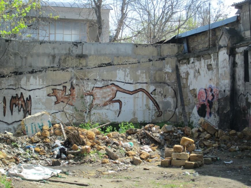 c9c08429e4e33b154656de6b18dbc271 Одесский парк Шевченко отпугивает туристов