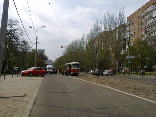 В Донецке столкнулись трамваи (ФОТО) (фото) - фото 1