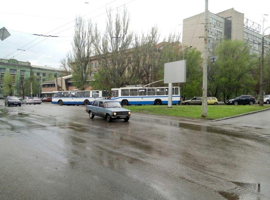 В Днепропетровске прошел град и подтопило улицы (ФОТО), фото-15