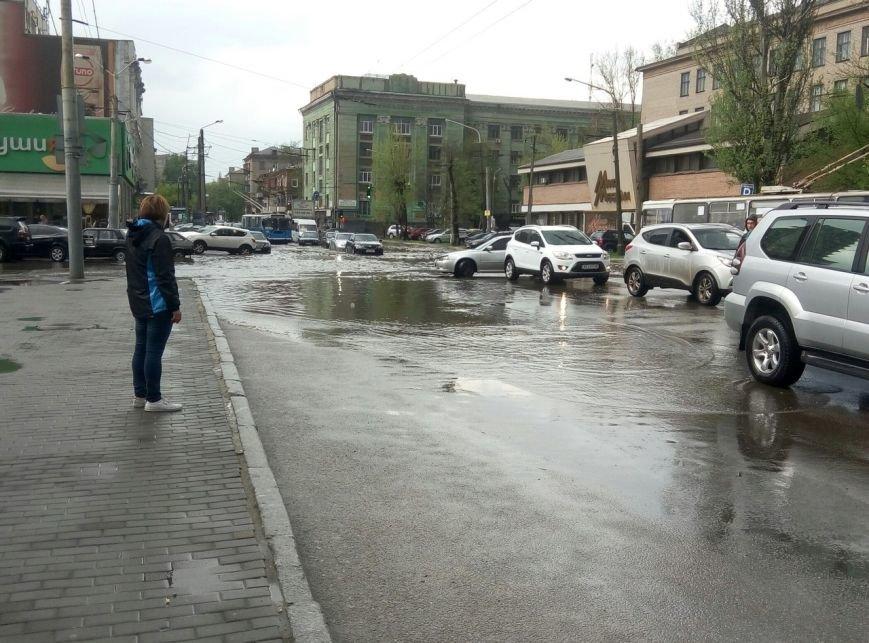 В Днепропетровске прошел град и подтопило улицы (ФОТО), фото-9
