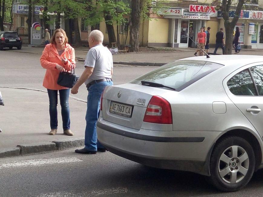 ДТП на пр.Гагарина: водитель легкового авто сбил маленькую девочку (ФОТО) (фото) - фото 2