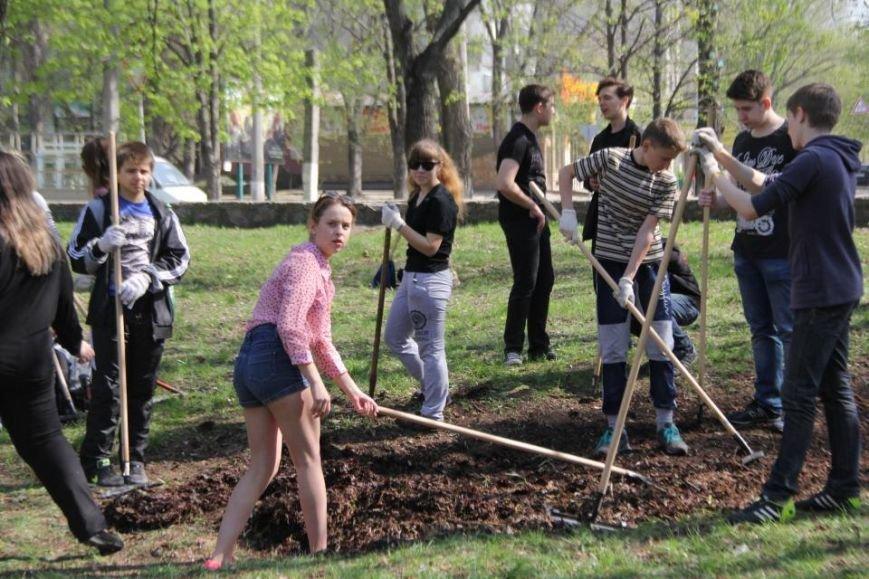 Сегодня в Кременчуге молодёжь начала наводить порядки в городских парках (фото и видео), фото-7