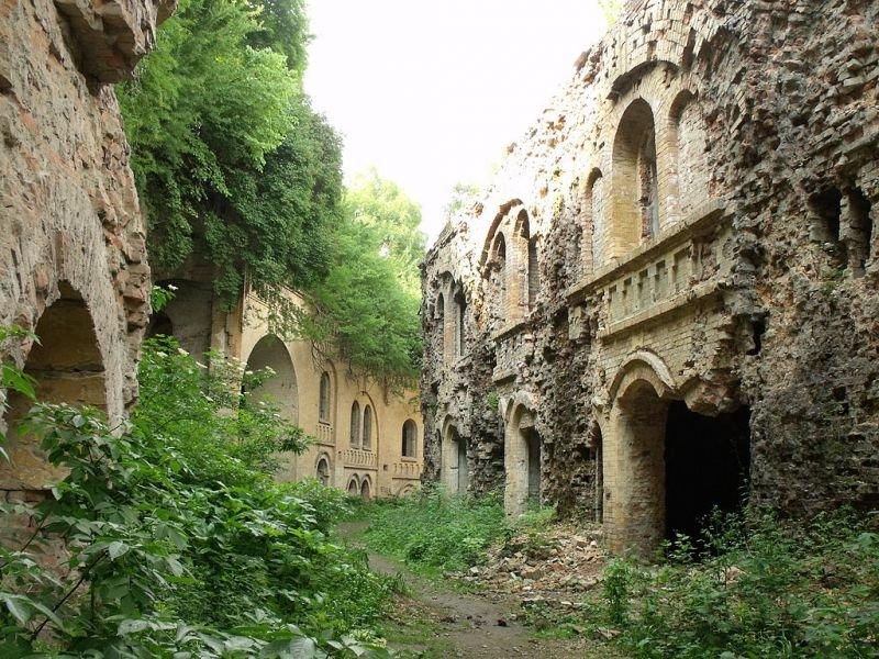 tarakanivskij fort