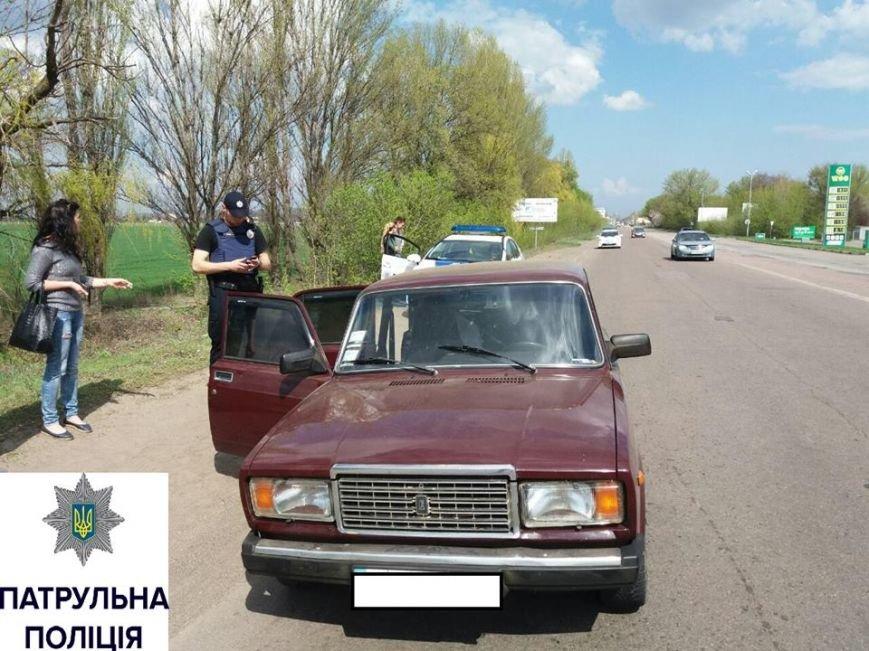 Завдяки допомозі небайдужих містян черкаські патрульні наздогнали п'яного водія (ФОТО), фото-1