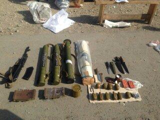 На Днепропетровщине сотрудники СБУ обнаружили арсенал оружия в автомобиле, остановленном для проверки (фото) - фото 1