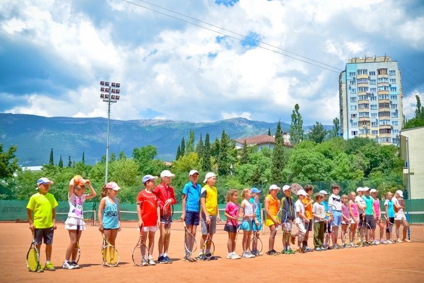 В Ялте посоревнуются юные теннисисты со всего Крыма, фото-1