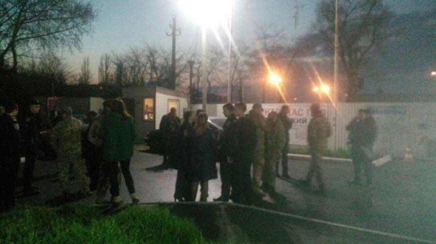 В Одессе активисты сорвали мероприятие «Оппозиционного блока» и добились закрытия незаконной газовой заправки (ФОТО) (фото) - фото 3