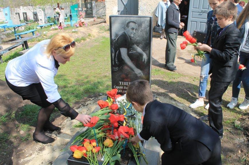 В Бахмуте почтили память героев АТО, фото-7
