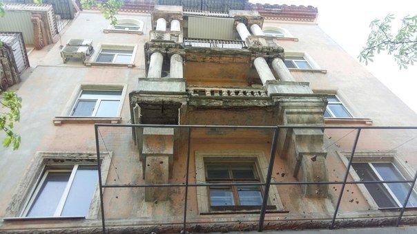 Днепропетровцам на заметку: куда жаловаться, если на вас упал кусок балкона (ФОТО) (фото) - фото 1