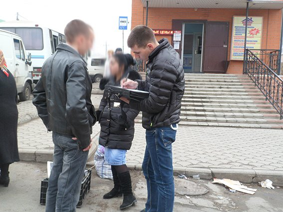 Под Одессой полицейские навели «шорох» на продуктовом рынке (фото) - фото 1