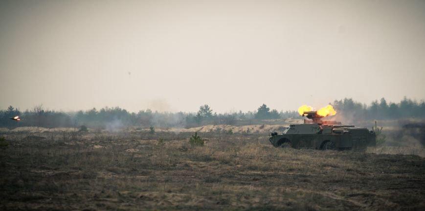 В Рівному на полігоні проходили бригадно-тактичні навчання, фото-4