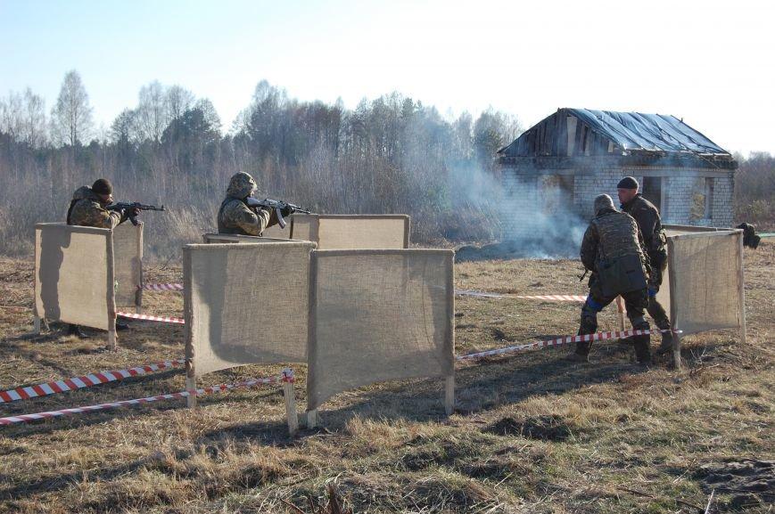В Рівному на полігоні проходили бригадно-тактичні навчання, фото-6