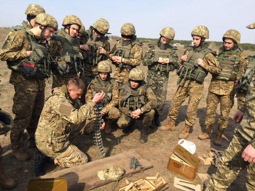 Под Полтавой состоялись военные учения (фото) - фото 2