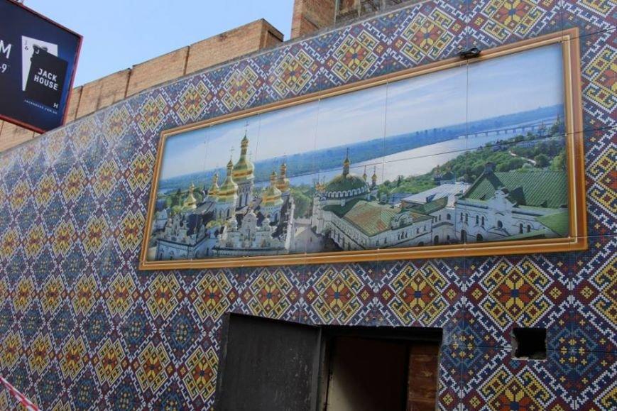 """На ст.м. """"Кловская"""" стены пешеходного перехода украсили мозаикой (ФОТО), фото-6"""