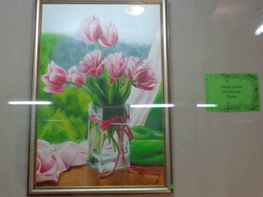 Буйство красок в каждом мазке кисти: в Красноармейске представили художественную выставку «Весенний вернисаж» (фото) - фото 13