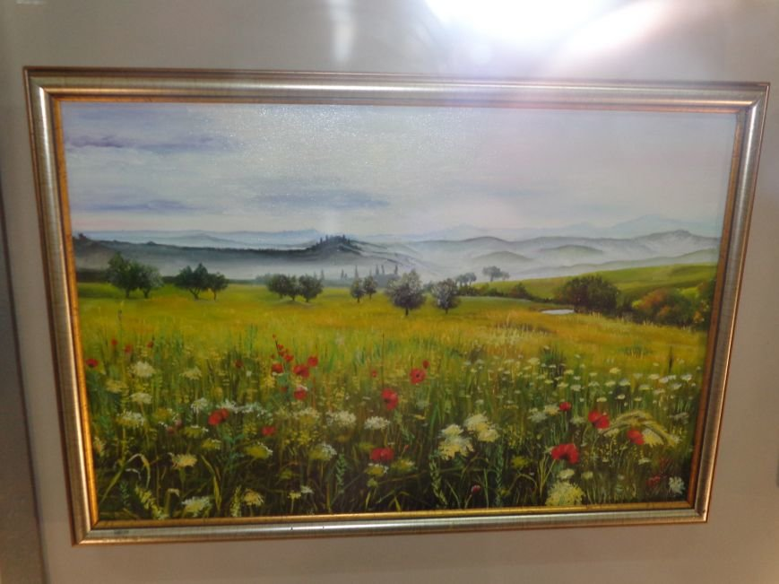 Буйство красок в каждом мазке кисти: в Красноармейске представили художественную выставку «Весенний вернисаж» (фото) - фото 11