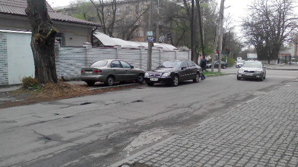 ДТП на ул. Телевизионной: столкнулись Daewoo и Mercedes (ФОТО) (фото) - фото 2