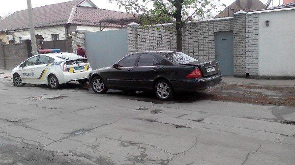 ДТП на ул. Телевизионной: столкнулись Daewoo и Mercedes (ФОТО) (фото) - фото 1