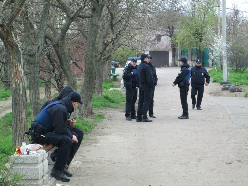 46636eac8a3be9650b55a7fdfff05db5 В одесском парке продолжается силовое противостояние