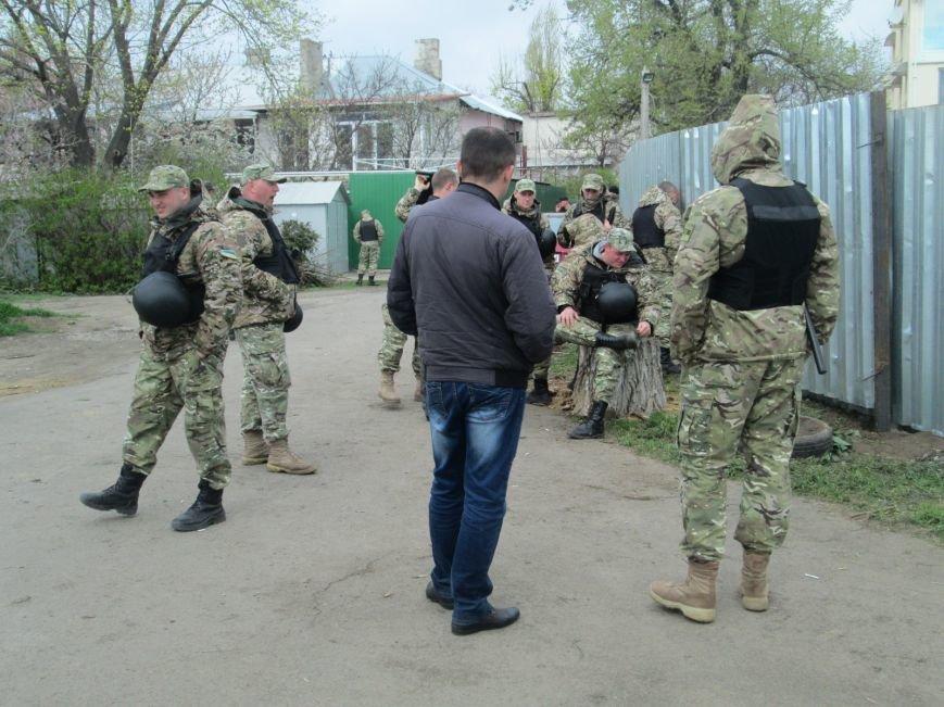 d8118c0afff01a0e60c03735cdeff9ca В одесском парке продолжается силовое противостояние