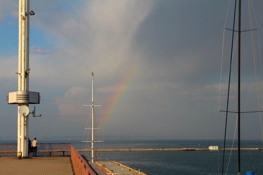 Двойная радуга: Одесситы сегодня делают невероятно красивые фотографии неба (ФОТО) (фото) - фото 1