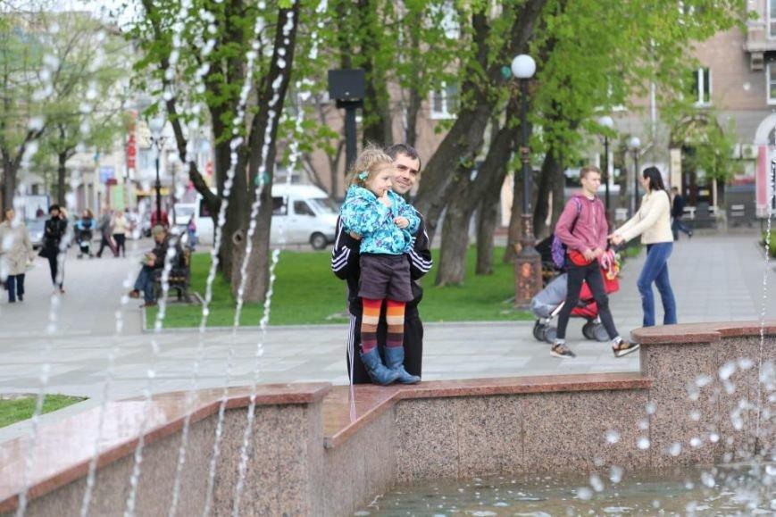 Ура! Кременчугский светомузыкальный фонтан уже «проснулся» от зимней спячки, фото-4