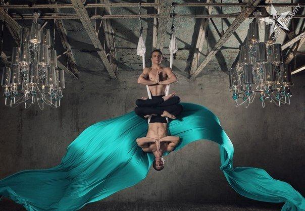 Новинкой для Житомира в этом сезоне стала Fly-йога (фото) - фото 2