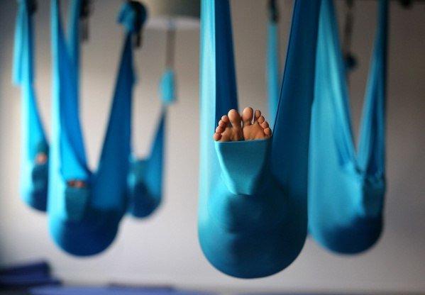 Новинкой для Житомира в этом сезоне стала Fly-йога, фото-1