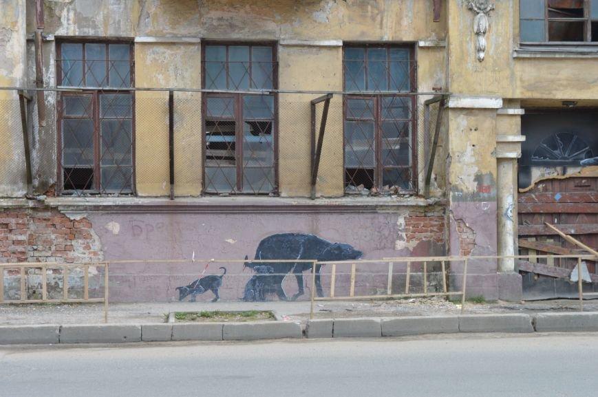 Полуразрушенные исторические здания в районе железнодорожного вокзала в Витебске., фото-2