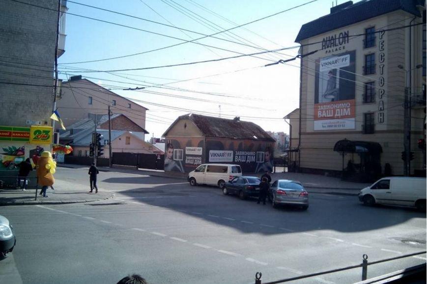 У Тернополі на проспекті Бандери зіткнулися автомобілі (Фото) (фото) - фото 1