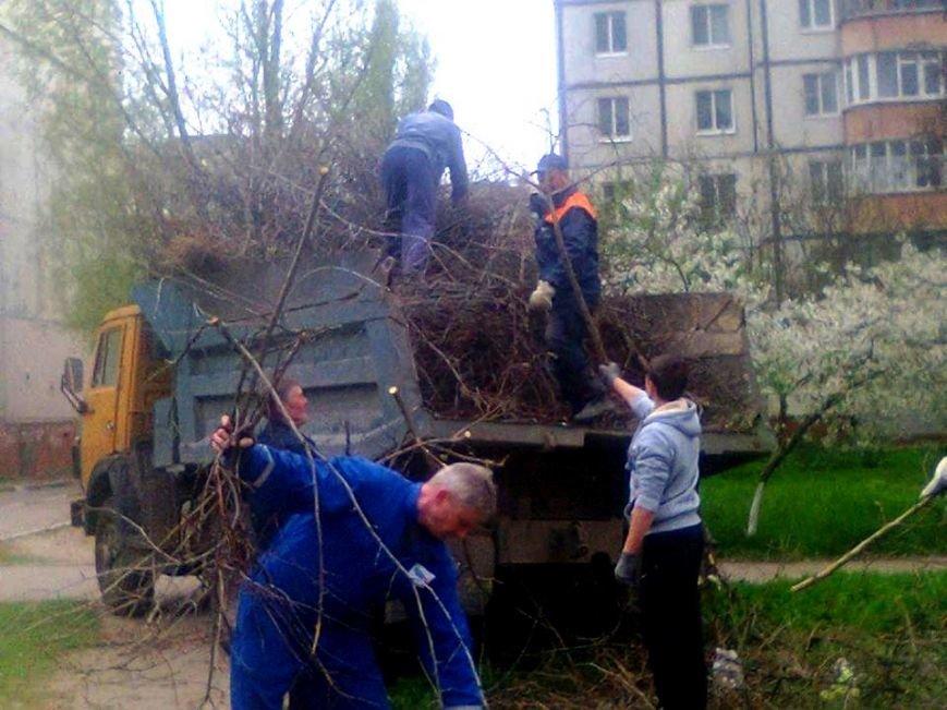 В Херсоне активные горожане убрали три стихийных свалки (фото) (фото) - фото 1