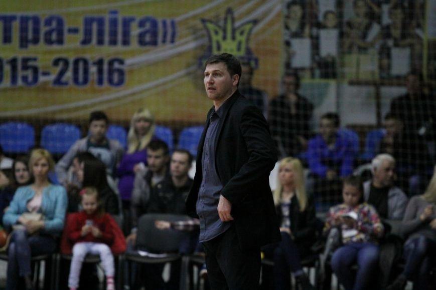 Криворожские баскетболисты обыграли столичное