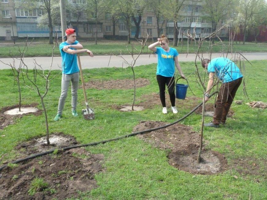 """""""Зеленые легкие Криворожья"""": студенты внесли вклад в сохранение чистой окружающей среды (ФОТО), фото-8"""