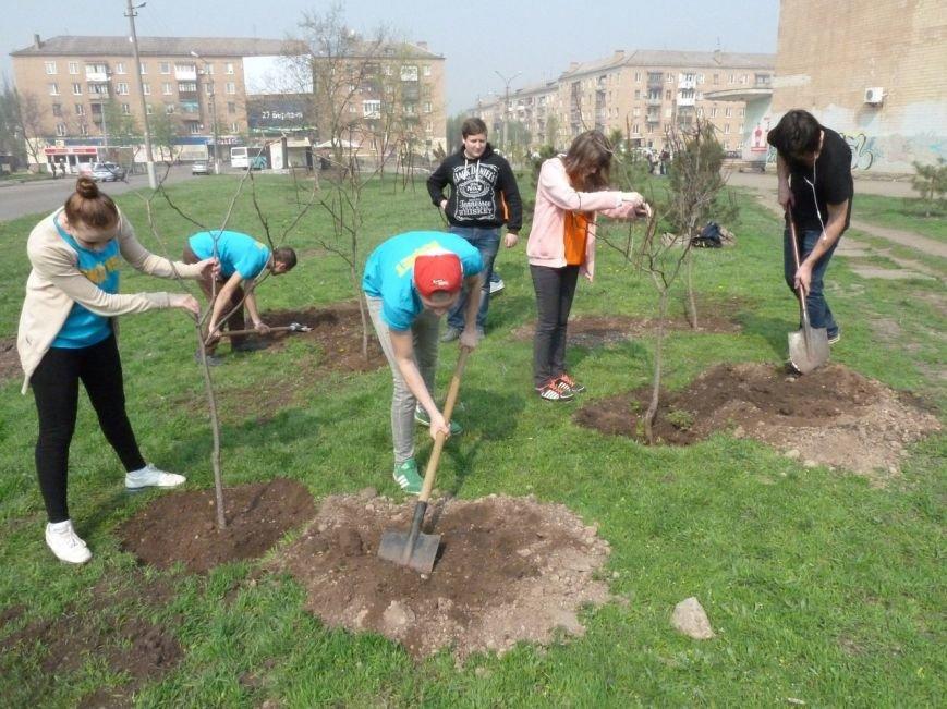 """""""Зеленые легкие Криворожья"""": студенты внесли вклад в сохранение чистой окружающей среды (ФОТО), фото-4"""